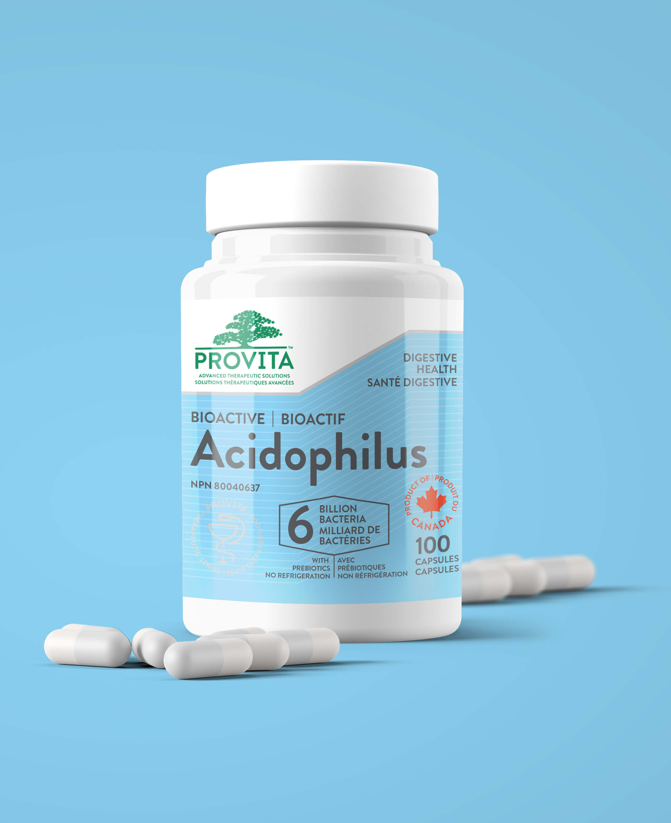 Lactobacillus acidophilus for yeast infection pills