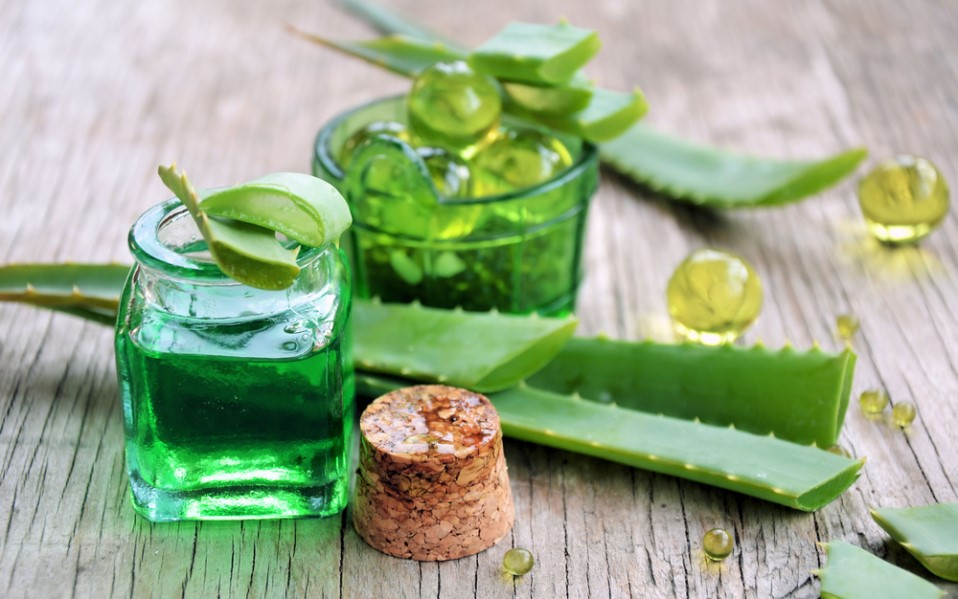 Aloe vera gel can be used to help reduce the severity of a yeast infection.  It is a great natural home remedy for this condition!