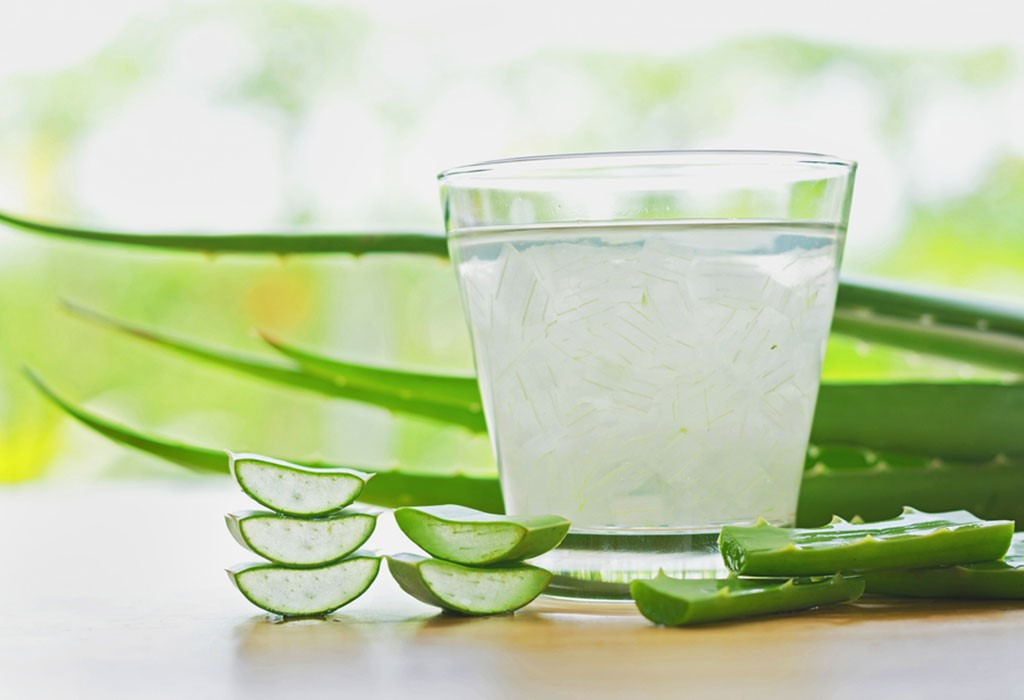 Drinking aloe vera juice is not a good idea; but, you can use aloe vera on the exterior of the body for soothing relief!