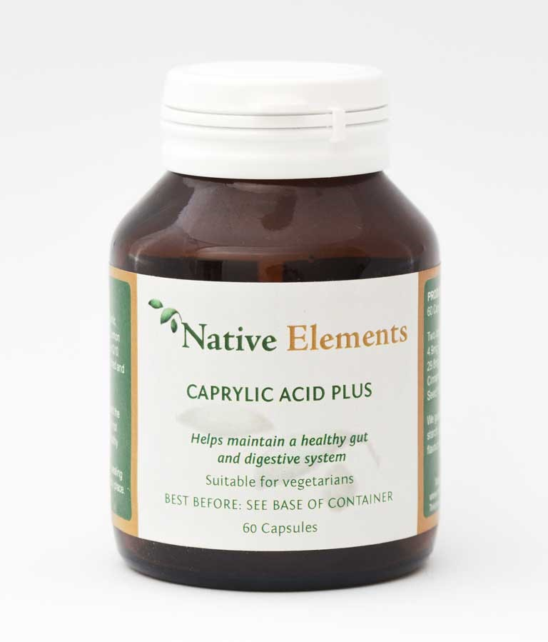 Caprylic acid for Candida Infection