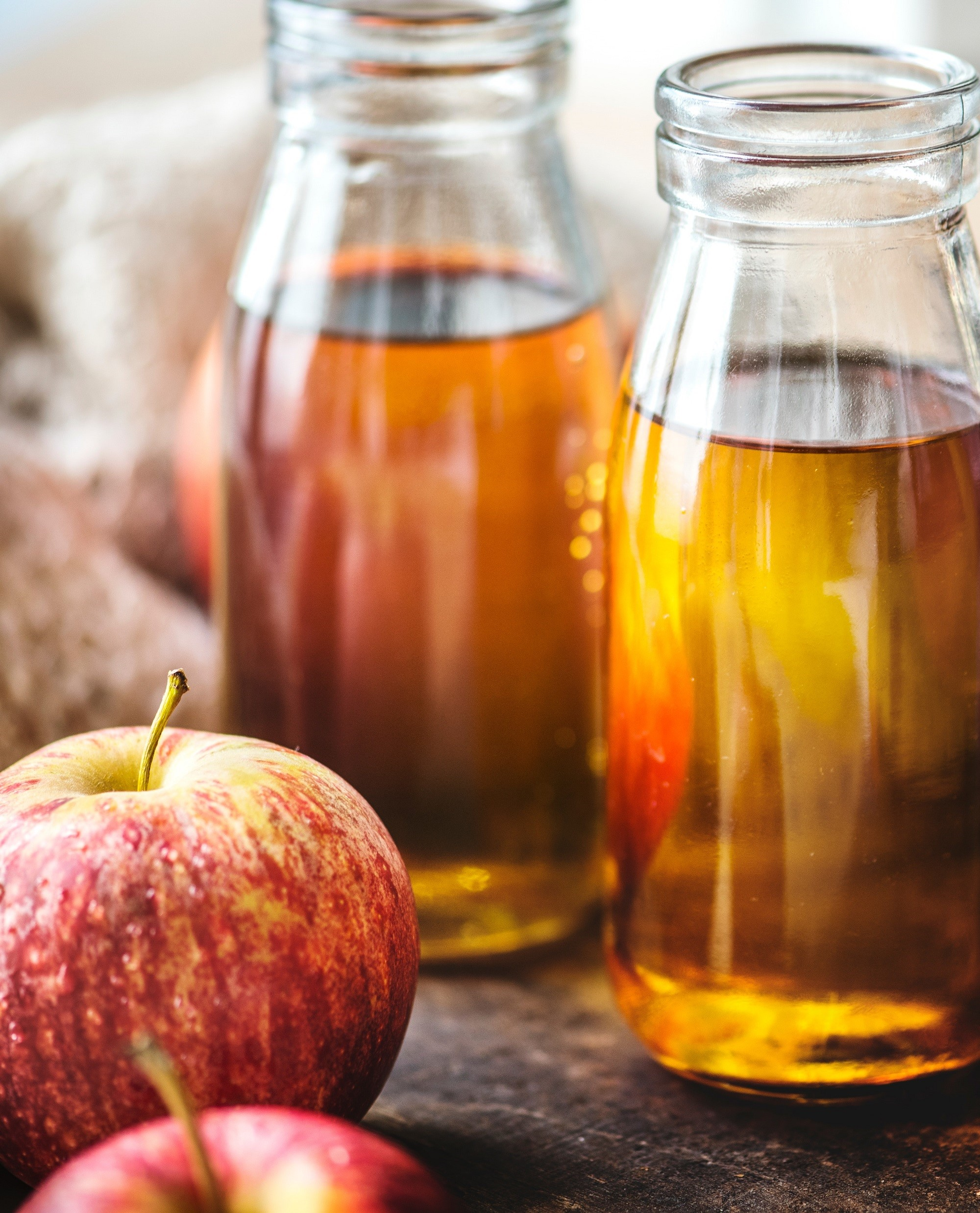 Douching after a period is a stellar idea.  It will help to mechanically remove old tissue that might be used as food by yeast.  Selecting a good apple cider vinegar to use as a douche is also a great accoutermentary idea; as it will acidify the vagina.