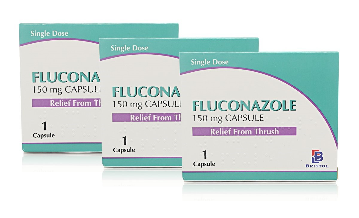 How long does it take oral fluconazole to work at stopping a yeast infection?